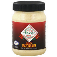 TABASCO Brand Spicy Mayonnaise, 16 fl oz, (Pack of 12)