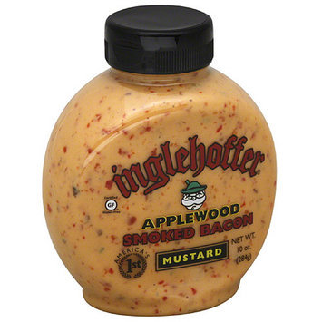 Inglehoffer Applewood Smoked Bacon Mustard, 10 oz, (Pack of 6)