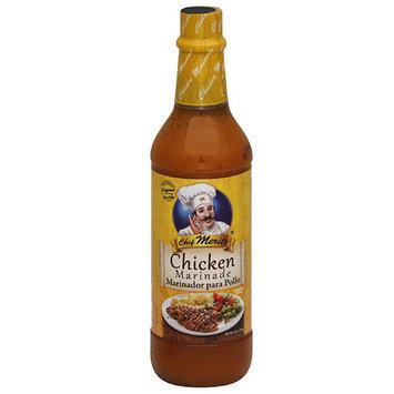 Chef Merito Chicken Marinade, 25 oz, (Pack of 12)
