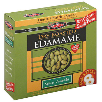 Sea Point Farms Seapoint Farms Spicy Wasabi Dry Roasted Edamame Packs, 6.35 oz, (Pack of 12)