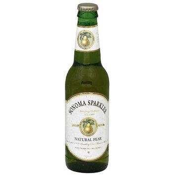 Sonoma Cider Sonoma Sparkler Natural Pear Apple Juice, 12 fl oz, (Pack of 24)