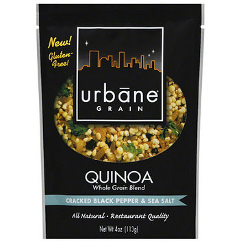 Urbane Grain Cracked Black Pepper & Sea Salt Quinoa Whole Grain Blend, 4 oz, (Pack of 6)