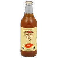 Rooibee Red Tea Rooibee Peach Red Tea, 12 fl oz, (Pack of 12)