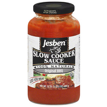 Jesben Slow Cooker Jesben Original BBQ Slow Cooker Sauce, 24 oz, (Pack of 6)