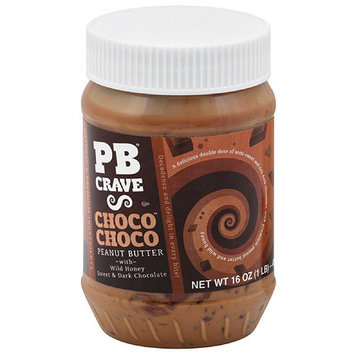 Pb Crave t Butter, 16 oz, (Pack of 6)