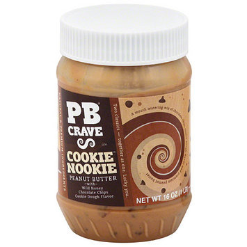 PB Crave Cookie Nookie Peanut Butter, 16 oz, (Pack of 6)