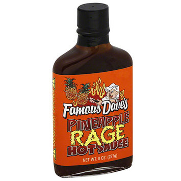 Famous Daves Famous Dave's Pineapple Rage Hot Sauce, 8 oz, (Pack of 12)