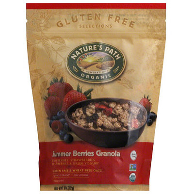 Nature's Path Organic Gluten Free Selections Summer Berries Granola, 11 oz, (Pack of 8)