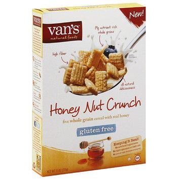 Vans Van's Natural Foods Honey Nut Crunch Cereal, 11 oz, (Pack of 6)