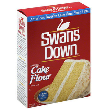 Campbell's Swanson Swans Down Enriched Cake Flour