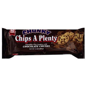 Ripon Good Rippin' Good Chunky Chips A Plenty Chocolate Chip Cookies, 13 oz, (Pack of 12)