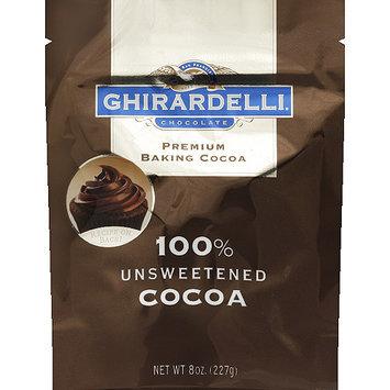 Ghirardelli Chocolate 100% Unsweetened Premium Baking Cocoa, 8 oz, (Pack of 6)