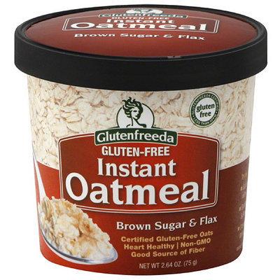 Glutenfreeda's Glutenfreeda Brown Sugar & Flax Gluten-Free Instant Oatmeal, 2.64 oz, (Pack of 12)