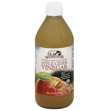 Harmony Farms Apple Cider Vinegar, 16 fl oz, (Pack of 12)