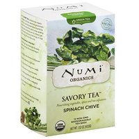 Numi Teas Numi Organics Spinach Chive Savory Green Tea Bags, 12 count, 1.52 oz, (Pack of 6)