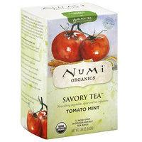 Numi Teas Numi Organics Savory Tea Tomato Mint Decaffeinated Black Tea Bags, 12 count, (Pack of 6)