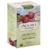 Numi Teas Numi Organics Savory Tea Beet Cabbage Decaffeinated Black Tea Bags, 12 count, (Pack of 6)