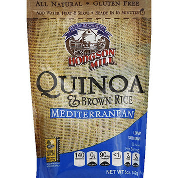 Hodgson Mill Mediterranean Quinoa & Brown Rice, 5 oz, (Pack of 6)