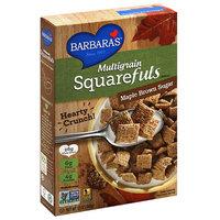 Barbaras Barbara's Multigrain Squarefuls Maple Brown Sugar Cereal, 12 oz, (Pack of 12)
