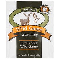 Louie's Wild Game Seasoning, 3 oz, (Pack of 12)