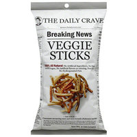 The Daily Crave Veggie Sticks, 6 oz, (Pack of 6)