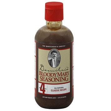 Demitri's Classic Recipe Bloody Mary Seasoning, 8 fl oz, (Pack of 6)
