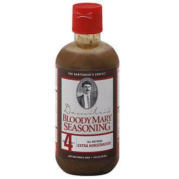 Demitri's Extra Horseradish Bloody Mary Seasoning, 8 fl oz, (Pack of 6)