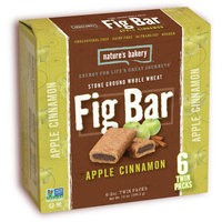 Ntrba Natures Bakery Nature's Bakery Stone Ground Whole Wheat Apple Cinnamon Fig Bars, 12 oz, (Pack of 12)