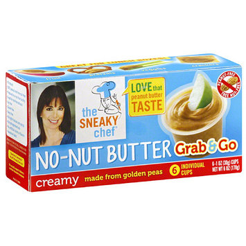 The Sneaky Chef Creamy No-Nut Butter, 6 oz, (Pack of 12)