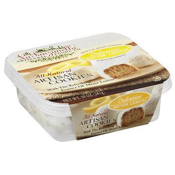 La Panzanilla La Panzanella Meyer Lemon All Natural Artisan Cookies, 10 oz, (Pack of 12)