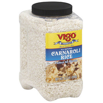Vigo Carnaroli Rice, 2.2 lbs, (Pack of 4)