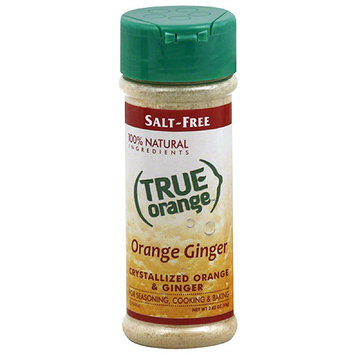 True Citrus True Orange Orange Ginger Crystallized Orange & Ginger Seasoning, 2.82 oz, (Pack of 6)