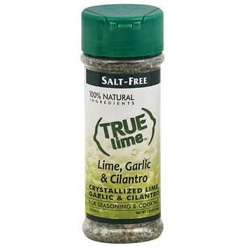 True Citrus True Lime Crystallized Lime, Garlic & Cilantro Seasoning, 2.29 oz, (Pack of 6)
