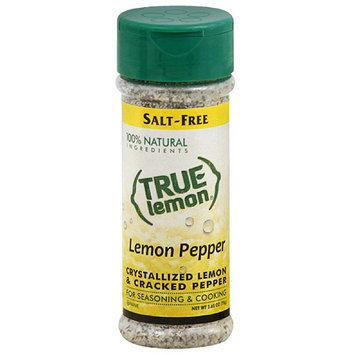 True Citrus True Lemon Lemon Pepper Crystallized Lemon & Cracked Pepper Seasoning, 2.65 oz, (Pack of 6)