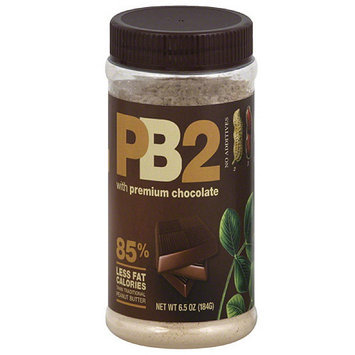 PB2 Peanut Butter Powder with Premium Chocolate, 6.5 oz, (Pack of 12)