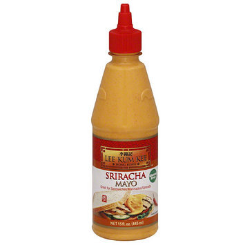 Lee Kum Kee Sriracha Mayo Condiment, 15 fl oz, (Pack of 12)