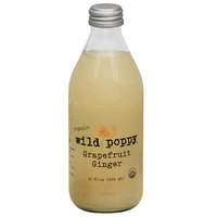 Wild Poppy Grapefruit Ginger Juice Drink, 10 fl oz, (Pack of 12)
