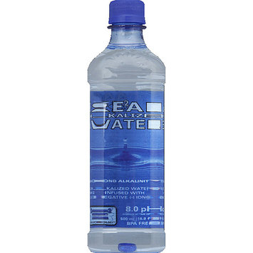 Real Water Alkalized Water, 16.9 fl oz, (Pack of 24)