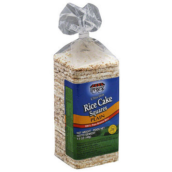 Paskesz Ultra-Thin Plain Rice Cake Squares, 4.9 oz, (Pack of 12)