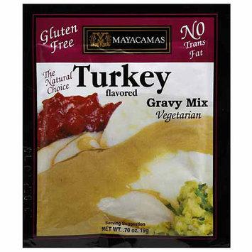 Mayacamas Turkey Flavored Vegetarian Gravy Mix, 0.7 oz, (Pack of 72)