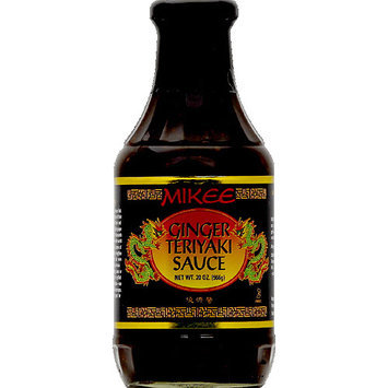 Mikee Ginger Teriyaki Sauce, 20 oz, (Pack of 12)