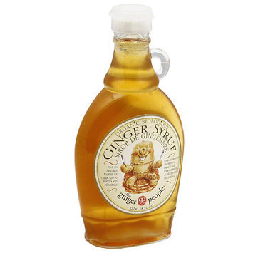 The Ginger People Organic Ginger Syrup, 8 fl oz, (Pack of 12)