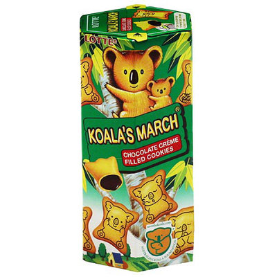 Lotte Koala's March Chocolate Creme Filled Cookies