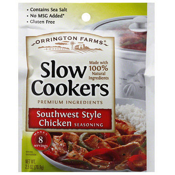 Orrington Farms Slower Cookers Southwest Style Chicken Seasoning, 2.5 oz, (Pack of 12)