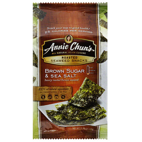 Annie Chun's Brown Sugar & Sea Salt Roasted Seaweed Snacks
