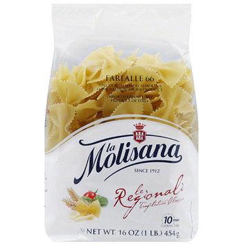 La Molisana Farfalle Pasta, 16 oz, (Pack of 12)