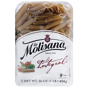 La Molisana Penne Ziti Rigate Pasta, 16 oz, (Pack of 12)