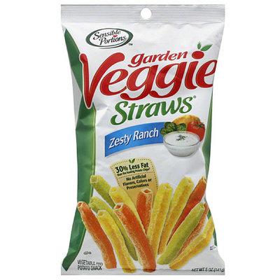 Sensible Portions Zesty Ranch Garden Veggie Straws, 5 oz, (Pack of 12)