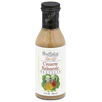 Haymaker Chef's Recipe Creamy Balsamic Dressing, 12 fl oz, (Pack of 6)