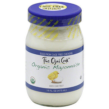 The Ojai Cook Organic Mayonnaise, 16 fl oz (Pack of 6)